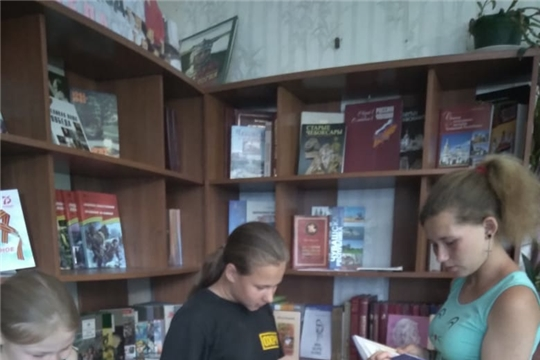 Виртуальное путешествие по городам малой родины «Край ты мой родной - Чувашия» в Восходской библиотеке