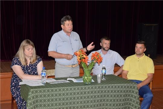 В Алатырском районе состоялось общественное обсуждение по вопросу предстоящего развития села Стемасы