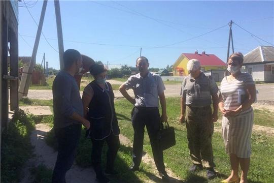 Выезд рабочей группы по ликвидации лейкоза в Алатырском районе