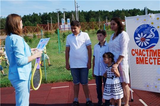 В Чуварлейском детском саду «Колокольчик» отметили праздник «День семьи, любви и верности»