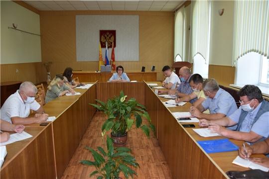 Состоялось очередное совещание с главами сельских поселений Алатырского района