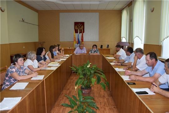 В Алатырском районе состоялось XII очередное заседание Собрания депутатов