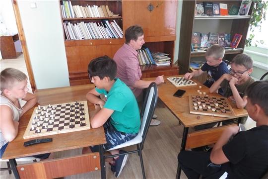 Шахматно – шашечные турниры в библиотеках Алатырского района