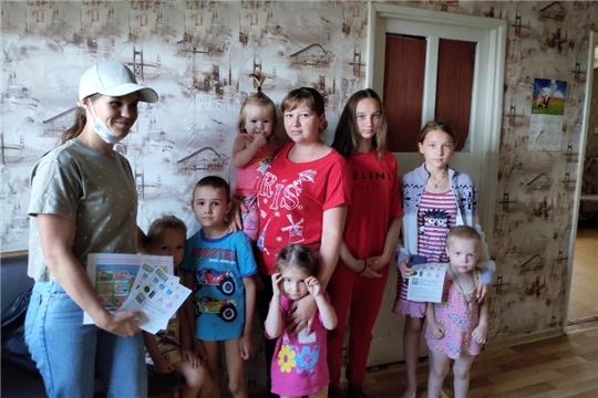 Межведомственный рейд в рамках акции «Безопасность детства» на территории Алатырского района.