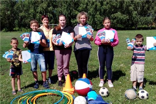 В Алатырском районе прошел июльский День здоровья и спорта