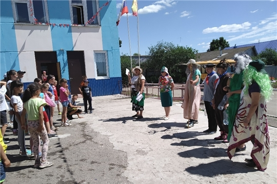 Чувашско-Сорминская СОШ: в лагере прошел замечательный и веселый праздник  «День Нептуна»