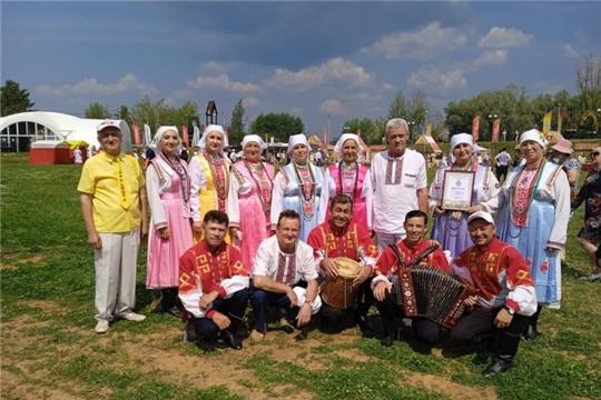 24 июня работники культуры Аликовского района приняли участие в праздновании IX Всечувашском празднике «Акатуй»