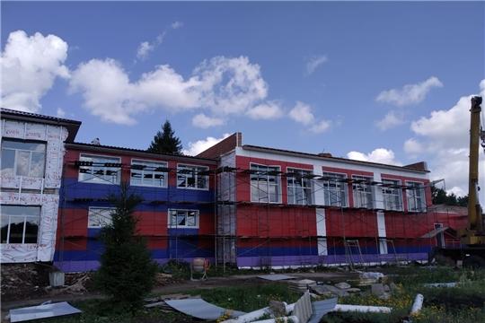 В Таутовской СОШ продолжаются ремонтные работы