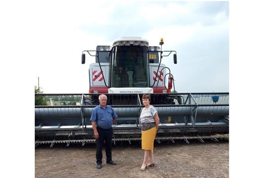 Аграрии района приступили к уборке озимых зерновых культур