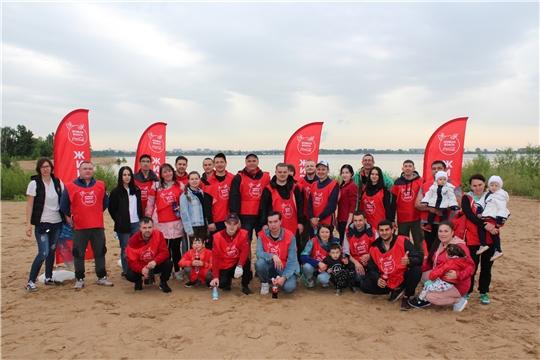 В проекте «Живая Волга» приняли участие более 45 тысяч россиян
