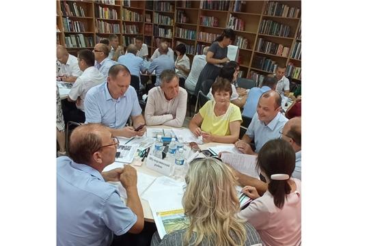 Обучающий семинар - совещание с главами администрации муниципальных районов и городских округов Чувашской Республики.