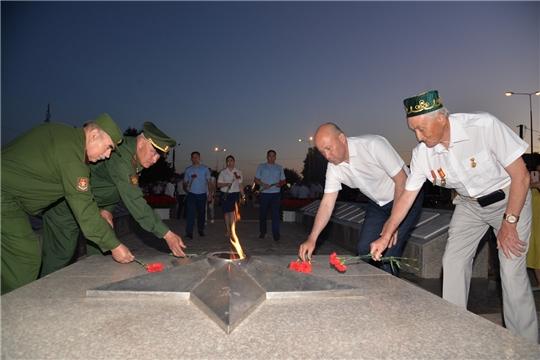 Акция «Свеча памяти и скорби» в Батыревском районе