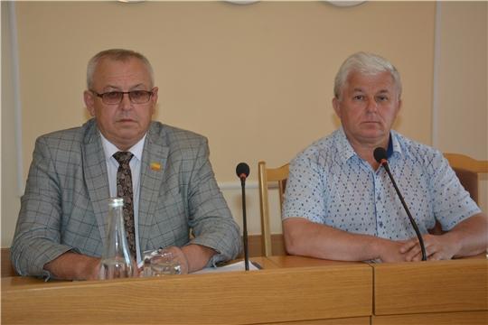 Состоялось IХ заседание Собрания депутатов Батыревского района