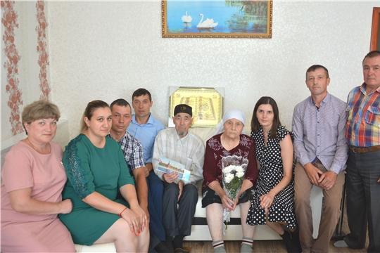 90-летний юбилей отмечает житель деревни Полевые Бикшики