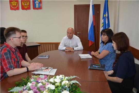 Рабочая встреча со студентами МГУ им.М.В.Ломоносова