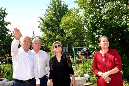 Рабочая поездка заместителя министра образования и молодежной политики Чувашской Республики в Батыревский район