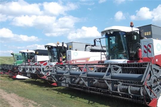 С 15 по 22 июня проводится техосмотр зерноуборочной техники