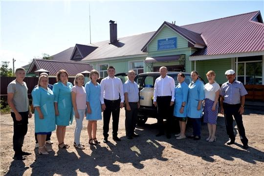 Обновляется материально-техническая база ветеринарной службы Батыревского  района