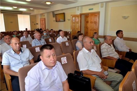 Совещание с главами сельских поселений
