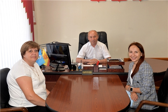 Рабочая встреча главы администрации района