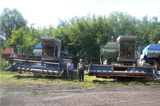 Проведена проверка зерноскладов и зерноуборочной техники сельскохозяйственных организаций Батыревского района