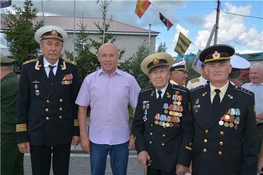 Ветераны ВМФ Батыревского района отмечают свой праздник