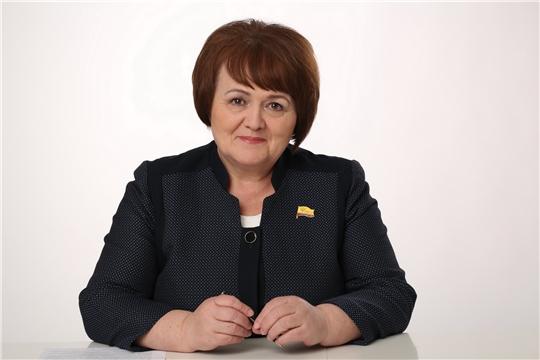Председатель Государственного Совета Чувашской Республики Альбина Егорова призвала жителей региона пройти вакцинацию от коронавируса, защитить себя и своих близких от коварной болезни.