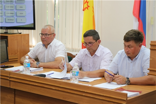 Шестое очередное заседание Собрания депутатов Чебоксарского района Чувашской Республики седьмого созыв