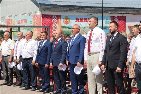 """Акатуй - 2021"" в Чебоксарском районе"