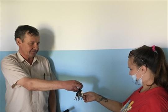 Торжественное вручение ключей от благоустроенных квартир лицам из числа детей-сирот и детей, оставшихся без попечения родителей