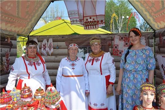 Работники культурных учреждений Чебоксарского района приняли участие на  IX Всечувашского праздника Акатуй