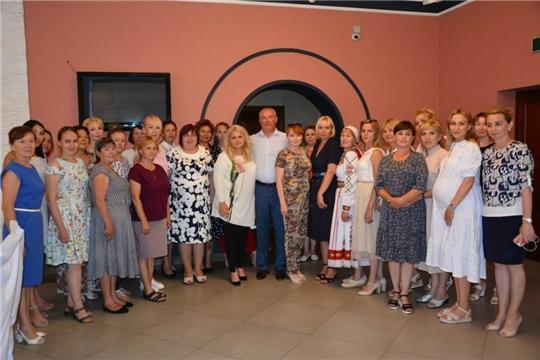 Состоялось расширенное заседание Чебоксарского районного отделения ЧРОО «Союз женщин Чувашии»