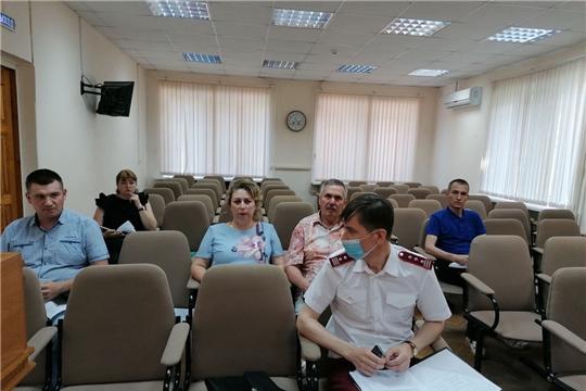Заседание санитарно-противоэпидемической комиссии при администрации Чебоксарского района