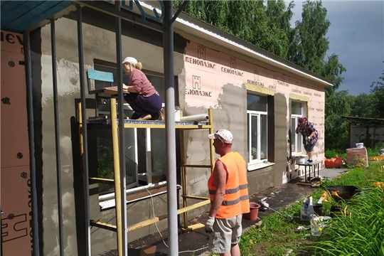 Завершаются ремонтные работы в Хыркасинской детской школе искусств