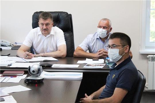Состоялось очередное совещание, посвященное вакцинации против коронавирусной инфекции