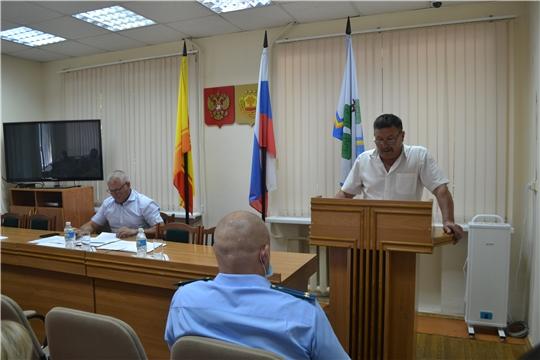 В Чебоксарском районе рассмотрены вопросы противодействия коррупции