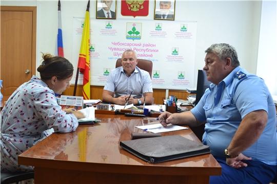 Николай Хорасёв рассмотрел обращения граждан