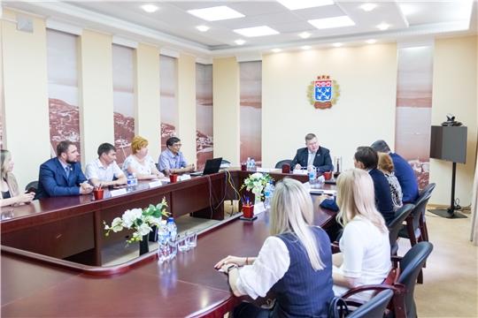 В Чебоксарах в рамках благотворительного проекта «Помощь детям Донбасса» прошла встреча с главой города Горловка