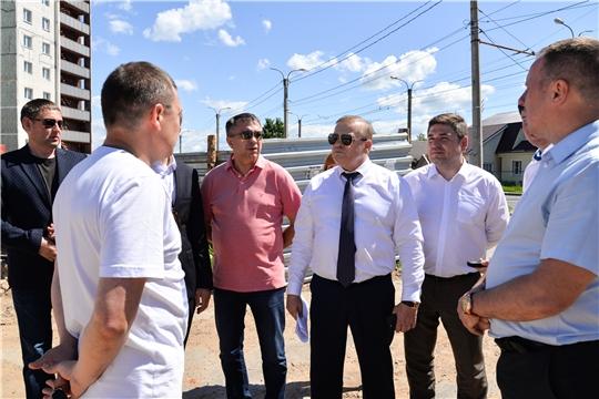 Состоялось выездное заседание постоянной комиссии Чебоксарского городского Собрания депутатов по вопросам градостроительства землеустройства и развития территории города