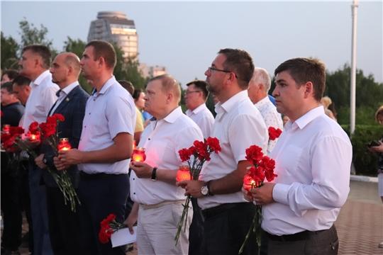 Депутаты приняли участие во Всероссийской акции «Свеча памяти»