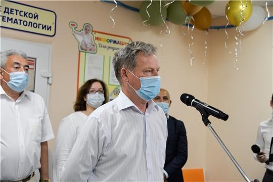 В БУ «Республиканская детская клиническая больница» Минздрава Чувашии состоялось торжественное открытие обновленной «Семейной комнаты»