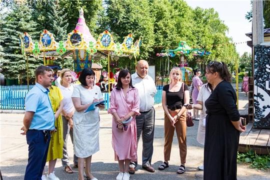 Народные избранники ознакомились с объектами культуры города Чебоксары