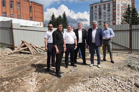 Олег Кортунов проверил ход реализации проекта «Формирование комфортной городской среды»