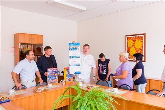 Народные избранники посетили реабилитационный центр для детей и подростков с ограниченными возможностями