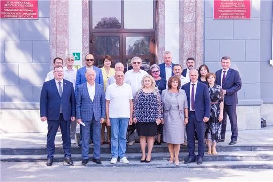 Состоялось первое заседание обновленного Общественного совета муниципального образования города Чебоксары