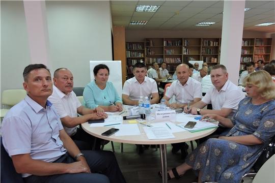 В Яльчиках прошла стратегическая сессия по привлечению инвестиций в муниципалитеты Чувашии