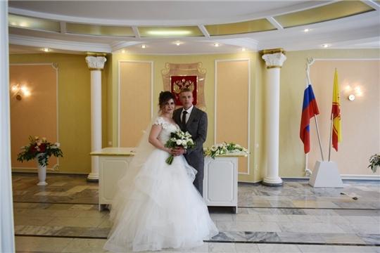 Торжественные регистрации бракосочетания, посвященные Дню России