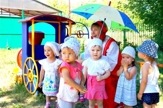 Организация работы дошкольных учреждений столицы в летний период