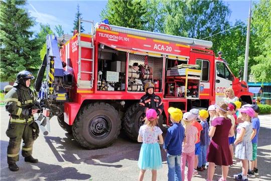 Детские сады столицы участвуют в летнем этапе Всероссийской акции «Безопасность детства - 2021»