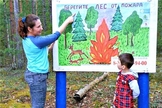 В дошкольных учреждениях города Чебоксары проходит Неделя пожарной безопасности